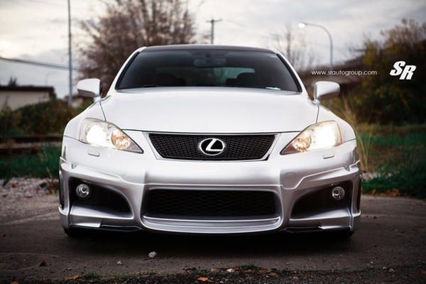 Lexus IS-F от Wald International и SR Auto